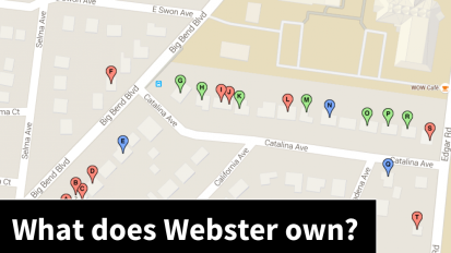 43 years: Webster's 20 residential properties