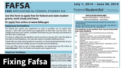 Fixing the Fafsa Makes Its Way toCongress